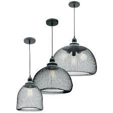 black metal mesh lamp shade pendant light awesome wire range wiring for lights
