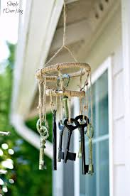 DIY Skeleton Key Wind Chimes | 32 DIY Wind Chimes