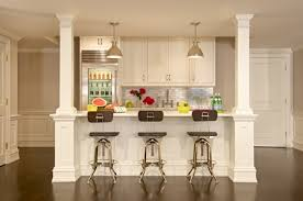 Design Includes New Kitchen In Basement Renovation Greenwich