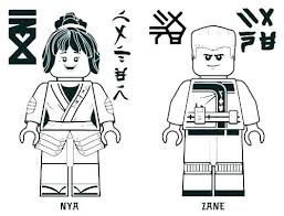 Coloring Pages Lego Ninjago Coloring Pages Kai Page Printable Free
