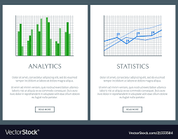 Analytics Chart Analytics Chart And Statistics Graph Color Cards