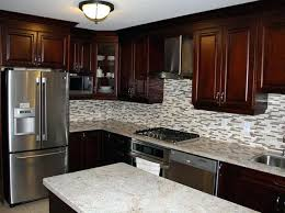 inspiration for a kitchen remodel in cherry cabinets with granite countertops dark coloured custom ki