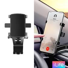 Ilife <b>Car</b> Holder Dashboard <b>Phone</b> Holder 360 Free Rotation ...