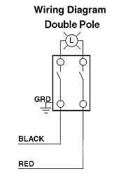 2 pole wiring diagram wiring diagram single pole switch diagram 2