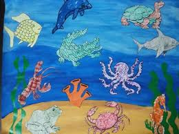 Ocean Animals Chart My Creative Barn