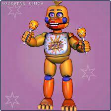 Rockstar Chica v1 - [FNaF 6 Blender] by ChuizaProductions | Fnaf drawings,  Fnaf, Fnaf characters
