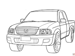endorsed pick up truck coloring pages chevy