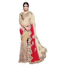 Shree Designer Saree Shree Designer Sarees Womens Royal Multi Color Satin On Net