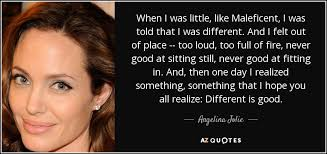 TOP 25 QUOTES BY ANGELINA JOLIE (of 349) | A-Z Quotes via Relatably.com