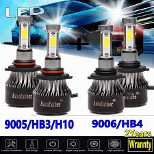 2006 Chevy Silverado Bulb Chart 9005 Hb3 H10 And 9006 Hb4 Led Headlight Bulbs 6000k White High Low Beam Combo Set 480w Super Bright For Chevrolet Silverado 1500 1999 2007