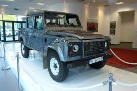 The Land Rover Defender From The Opening Sequence Of Skyfall