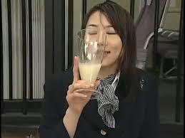 Free glass of cum