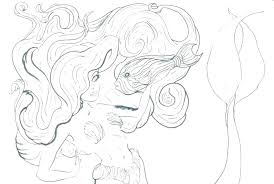 Mermaid Coloring Pages Free Page Printable The Little S Betterfor