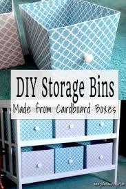 Storage Boxes Decorative Fabric Upcycling a Cardboard Box into a Stylish DIY Storage Box 27