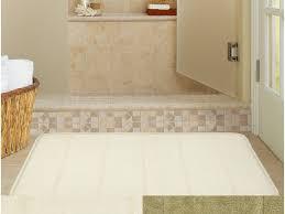 simple extra large bath rugs for warm bathroom ideas with elegant wicker basket