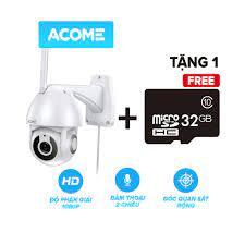 Camera Wifi Thông Minh Ngoài Trời ACOME APC02 Độ Phân Giải 1080P [Hàng  Chính Hãng] - Hệ Thống Camera Giám Sát Thương hiệu Acome