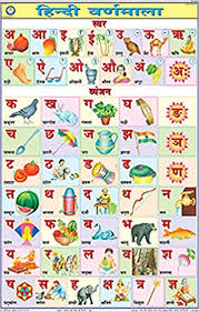 Varnmala In Hindi Chart Buy Hindi Alphabet Chart 50x75cm Book Online At Low Prices