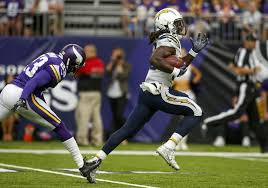 Chargers Rb Depth Chart 2016 Chargers Fall Short To Vikings In Debut Of U S Bank Stadium