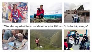 gilman scholarship campus advisor essay tips for applicants
