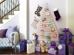 Decorating For The Holidays  Creative Ways To Use Ornaments When Christmas Trees That Hang On The Wall