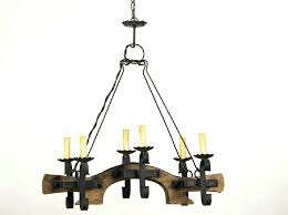 wood iron chandelier and black surprising farmhouse rustic brown reclaimed
