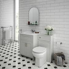 sworth white marble traditional grey vanity unit toilet package victorian plumbing uk