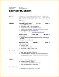 Extraordinary Good Resume Should Look Like Also What A How In 2015