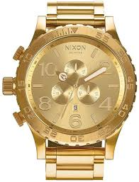 Big Face Designer Watches Nixon 51 30 Chrono 100m Water Resistant Mens Watch Xl 51mm Watch Face 25mm Stainless Steel Band