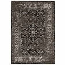 berit distressed vintage fl lattice 5x8 area rug in brown and beige