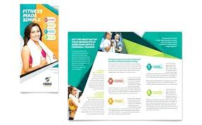 Pamplet Templates Find Health Club Fitness Center Pamphlet Templates That Include