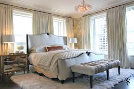 Palmolive Penthouse, Bedroom, Interior Design by Summer Thornton Design