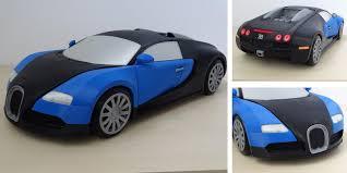 HBot 3D' 3D Prints an Amazing Bugatti Veyron 1:8 Scale Model Car ...