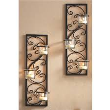 cool wall sconce candle set of two wall sconce candle for home decorating
