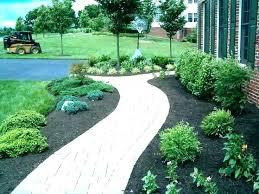 sidewalk ideas walkway ideas for front of house landscaping ideas front walkway image of plants sidewalk ideas