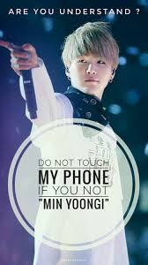 I have hundreds of phone wallpapers with the 7 wonders of the world so i thought to share them with you. Do Not Touch My Phone Yoongi Bts Wallpaper Bts Suga Bts Eyes