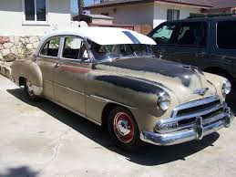 All Chevy 1951 chevy deluxe for sale : 1951 Chevy Deluxe 4 door for sale