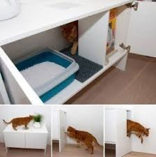 enclosed litter box furniture. Enclosed Cat Litter Box Furniture With