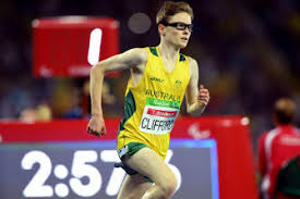 Despite being declared legally blind at the age of 12 due to juvenile macular degeneration, a condition that causes him to gradually lose his central vision, he hasn't let it deter him from success. Visually Impaired Runner Matching It With All Comers