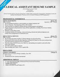 clerical assistant resume sample httpgetresumetemplateinfo3284 clerical sample clerical assistant resume