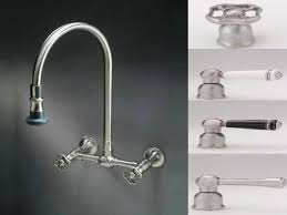 Entranching Unique Wall Mounted Kitchen Faucet With Sprayer 59 For