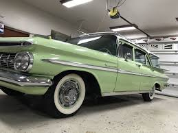 1959 Chevrolet Kingswood Station Wagon 3rd Seat Rare Find - Used ...