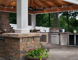 Outdoor Summer Kitchen Outdoor Living Projects Feature Patios Pergolas Outdoor Kitchens