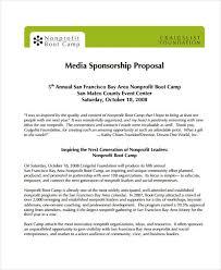 19 Sponsorship Proposal Examples Word Pdf Free