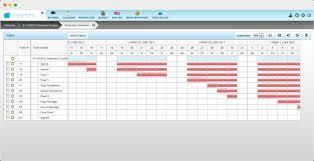 Project Management Software Production Schedule View Crosscap Crosscap