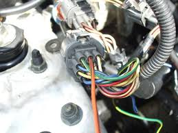wiring 4 wire o2 sensor or cx harness honda tech next was the green white i assume this to be a ground as it was tied into other wires of the same color further down the harness