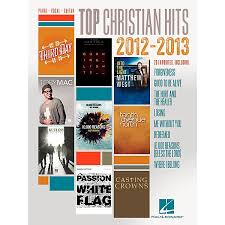 Christian Music Charts 2012 Hal Leonard Top Christian Hits Of 2012 2013 For Piano Vocal Guitar Pvg