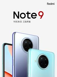 Official: Redmi Note 9 5G series to ...