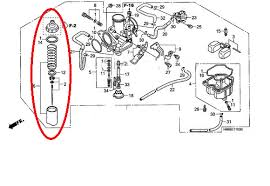 similiar honda recon 250 carburetor diagram keywords honda recon 250 carburetor diagram