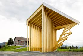 World famous architects design seven stunning bus stops for a tiny