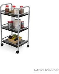 office trolley cart. Mind Reader 3 Tier All Purpose Metal Kitchen Cart, Utility Trolley, Home Or  Office Office Trolley Cart M